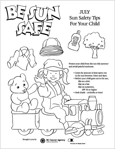 coloring pages for kids safety - photo#31